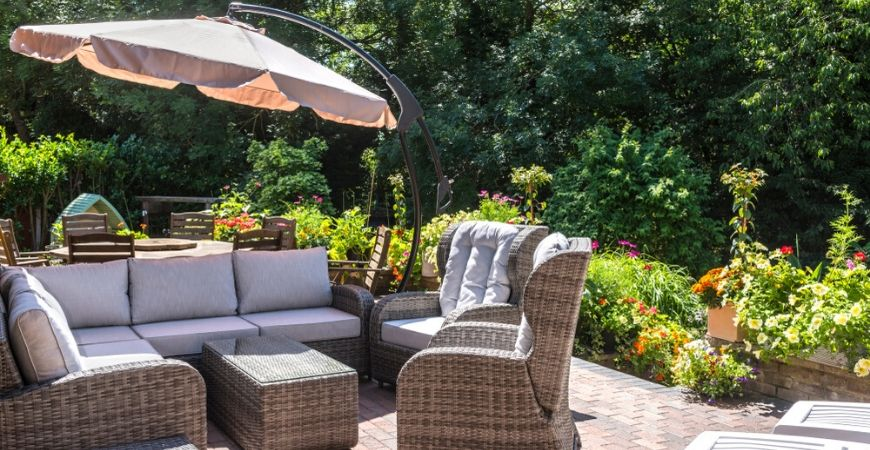Tuincentrum Coppelmans | Parasols | Zweefparasols | Schaduwdoeken