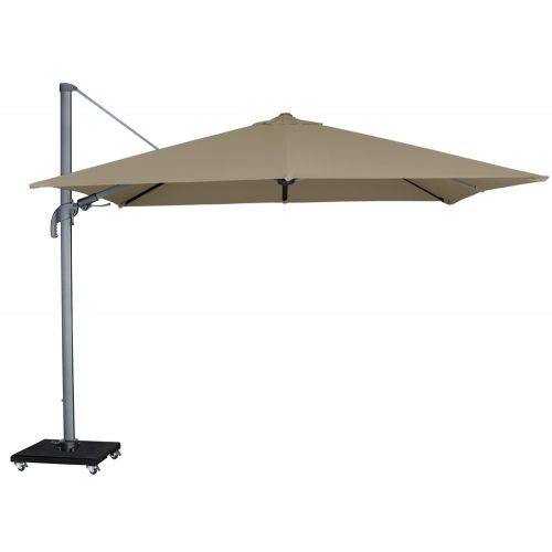 Royal Seasons Zweefparasol Recharger T² 300x300 Taupe - afbeelding 1