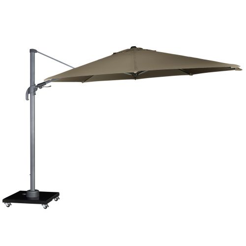Royal Seasons Zweefparasol Recharger T² ø350 Taupe - afbeelding 1