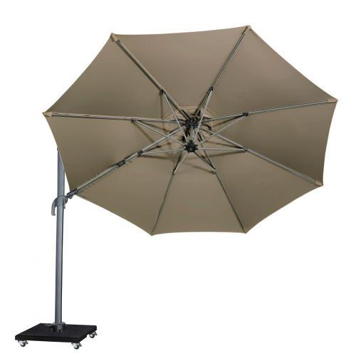 Royal Seasons Zweefparasol Recharger T² ø350 Taupe - afbeelding 2