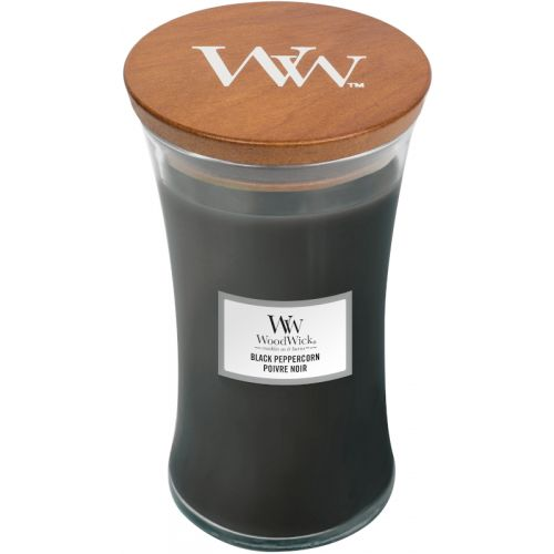 Woodwick Black Peppercorn Large Candle