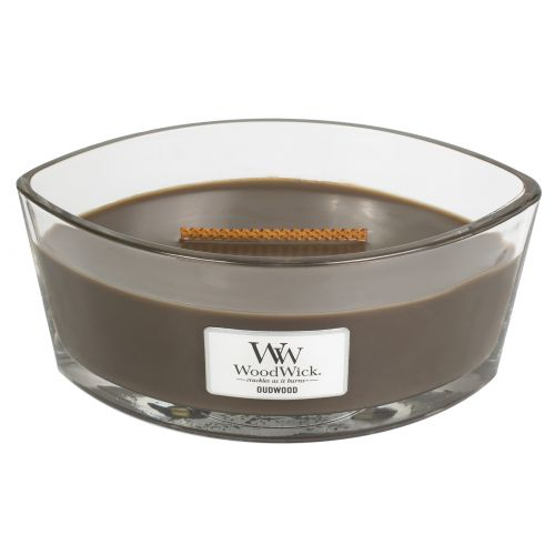 Woodwick Oudwood Ellipse Candle - afbeelding 2