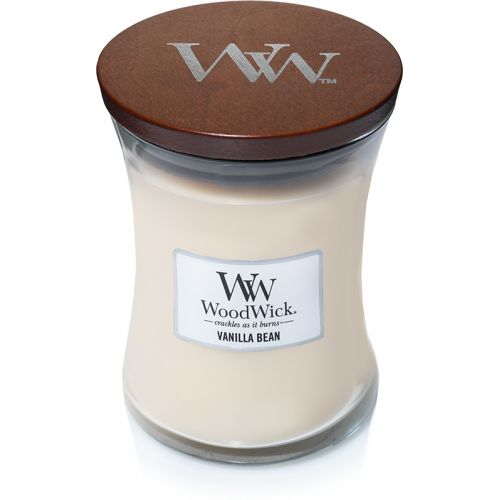 Woodwick Vanilla Bean Medium Candle