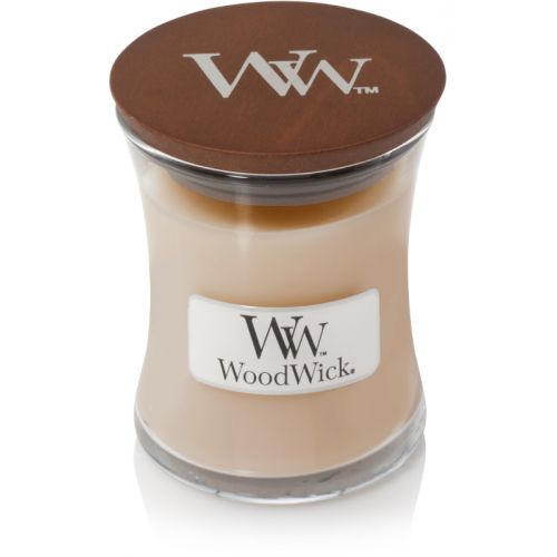 Woodwick White Honey Mini Candle